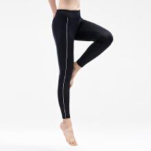 安踏运动裤女 2019春新款九分裤女健身跑步修身打底裤训练健身裤