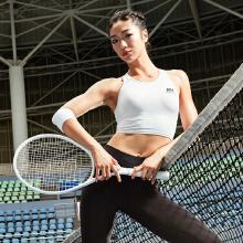 安踏运动内衣女 2019新款运动纯色背心式内衣女美背高强度跑步bra