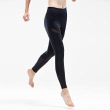 安踏健身】裤女 20190春新款健身房翘臀健身九分裤女瑜伽美�I 体紧身裤