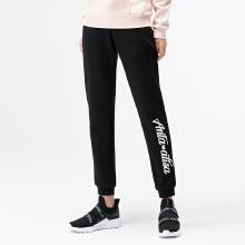 安踏运动女裤 2019春夏新款时尚运动裤字母印花休闲针织九@分裤女