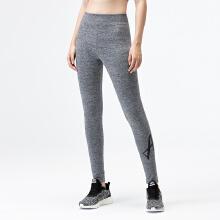 安踏运动裤女 专柜2019春夏新款瑜伽紧身裤女针织弹力九分打底裤