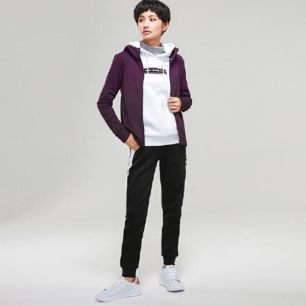 安踏跑步系列冬季女子女子滑雪棉风衣16845703