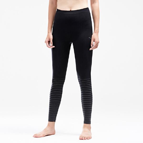 安踏跑步系列冬季女子针织九分裤16845742