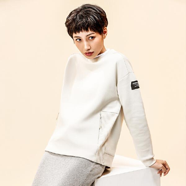 安踏综训系列冬季女子套头卫衣16847737