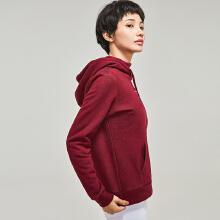[关晓彤同款]安踏卫衣女 2019春季新款时尚修身休闲运动连帽卫衣