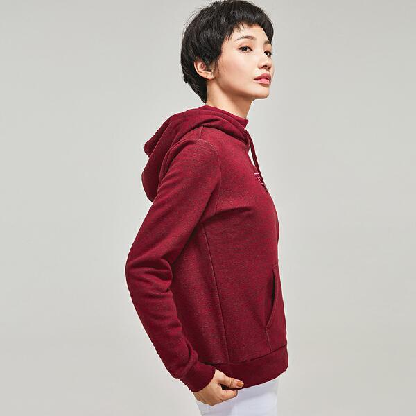安踏生活系列冬季女子连帽卫衣16848716
