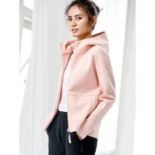 [关晓彤同款]外套女2019春夏针织开衫连帽女装