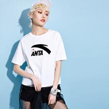 安踏logo女装短T2019春夏季