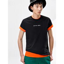 男子运动休闲短袖针织衫