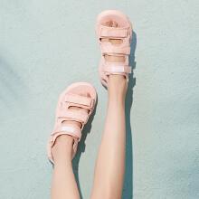 安踏女子2019新款夏季厚底ins外穿沙滩凉鞋
