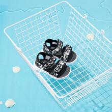 安踏儿童2019新款夏季婴童漫威联名沙滩凉鞋