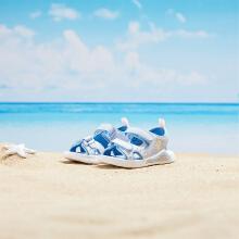 安踏儿童2019新款夏季小童可爱卡通沙滩凉鞋