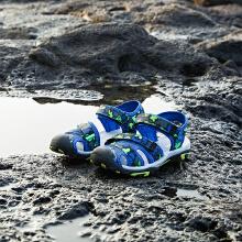 安踏儿童2019新款夏季中大童包头防撞沙滩凉鞋