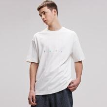 antaplus2019年新款男子宽松圆领T恤