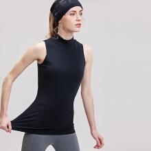 antaplus2019年新款女子背心瑜伽健身服小高领上衣