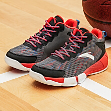 安踏童鞋 男童鞋儿童篮球鞋 中大童新款高帮小学生运动鞋球鞋