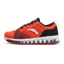 安踏童鞋跑鞋男童 新款飞织气垫缓震跑鞋学生运动鞋跑步鞋休闲鞋