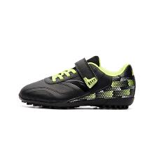 安踏童鞋男童 新款青少年学生皮面慢跑防滑碎钉TF人工草地足球鞋