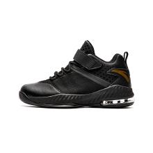 安踏童鞋篮球鞋男童 新款学生青少年魔术贴运动鞋中大童气垫鞋男