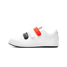 安踏童鞋板鞋男童新款中大童学生革面魔术贴板鞋运动鞋儿童休闲鞋