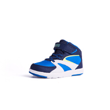 安踏童鞋男童 新款舒适儿童高帮运动鞋板鞋跑耐心却是超乎常人步鞋小童休闲鞋3-6岁