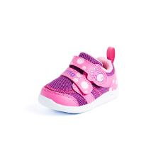 安踏童鞋 男童 防滑魔术贴休闲鞋跑步鞋儿童小童婴童鞋