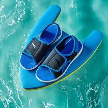 安踏儿童凉鞋男新款魔术贴防滑男孩运动沙滩凉鞋男