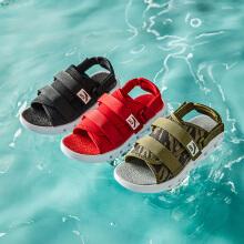 安踏童鞋男童凉鞋 新款秋冬韩版潮中大童学生男孩儿童沙滩鞋