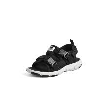 安踏童鞋男童凉鞋 小童夏季新款搭扣软底防滑沙滩鞋儿童凉鞋