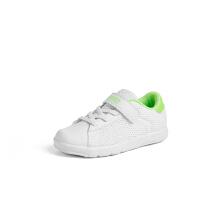 安踏童鞋儿童板鞋网面魔术贴健跑轻便板鞋