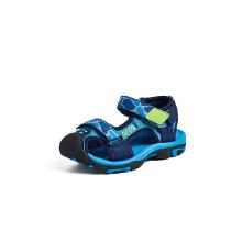 安踏童鞋儿童凉鞋 新款男童凉鞋魔术贴软底防撞沙滩凉鞋小童