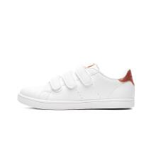 安踏童鞋女童新款中大童魔术贴小学生板鞋运动休闲鞋可爱儿童板鞋