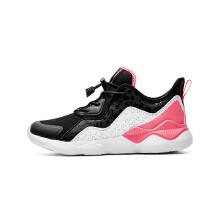 安踏童鞋女鞋 新款儿童大童休闲鞋运动鞋学生运动跑鞋慢跑皮筋鞋