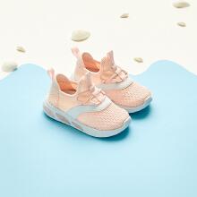 安踏儿童2019新款夏季网面透气女同婴童休闲鞋