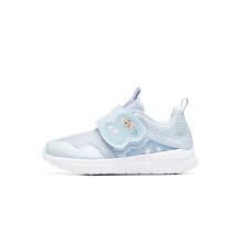 安踏儿童2019新款夏季小童女公主风魔术贴休闲鞋
