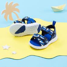 安踏儿童2019新款夏季婴童透气沙滩凉鞋
