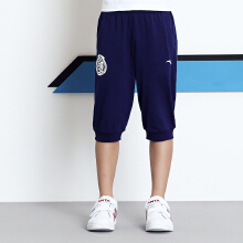 男童针织七分裤