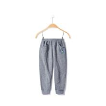 安踏童装女童运动裤 新款小童加厚保暖休闲舒适童裤针织长裤3-6岁