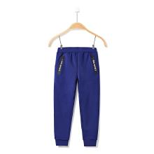 安踏童装运动裤男童 春季新款中大童休闲加绒保暖长裤学生运动裤