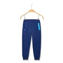 安踏童裤男童  新款童装中大童舒适针织学生儿童运动长裤