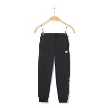 安踏儿童 男中大童针织运动长裤 新款休闲舒适儿童学生跑步裤