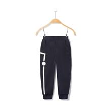 安踏童装儿童运动裤 春季新款中大童男童休闲时尚保暖运动裤