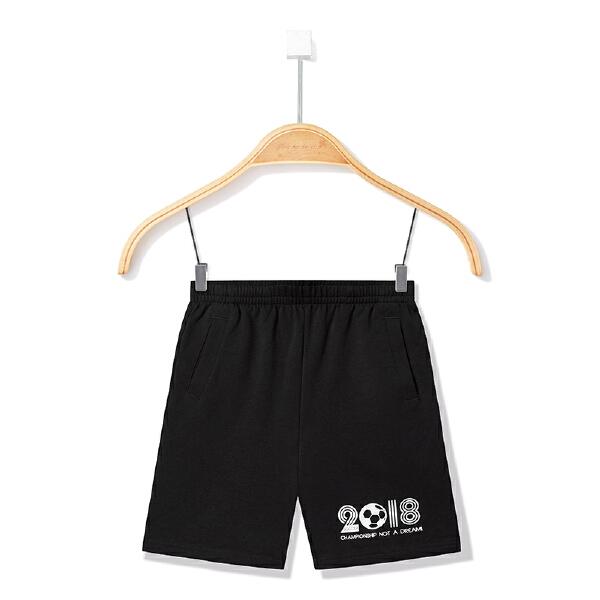 安踏儿童 男童针织五分裤-35822790