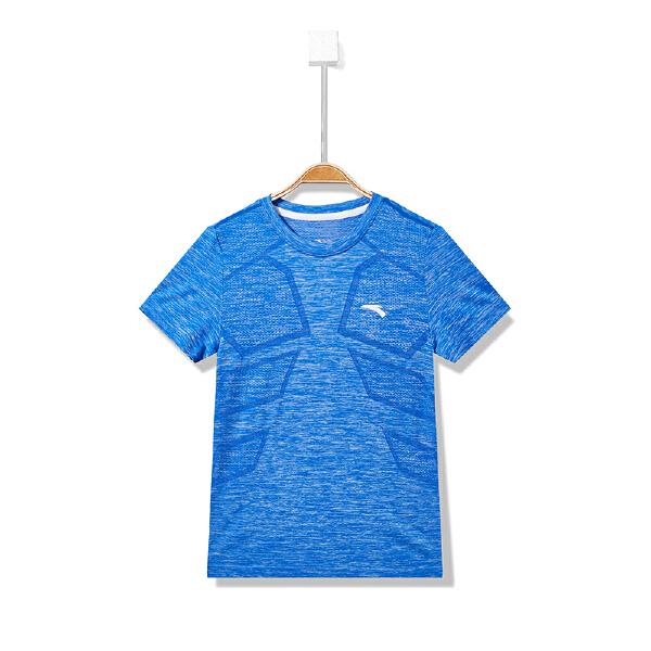 安踏儿童 男童短袖针织衫-35825147