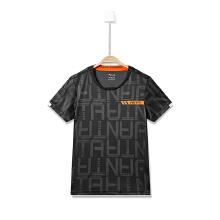 安踏童装男童短袖T恤秋冬新款舒适针织衫儿童T恤35825155