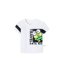 安踏儿童2019新款夏季小童透气舒适大眼蛙系列短袖