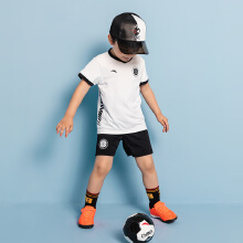 安踏儿童2019新款夏季小童男运动足球套装