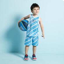 安踏儿童2019新款夏季小童男篮球比赛服