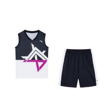 安踏儿童2019新款夏季中大童爱疯系列篮球套比赛服