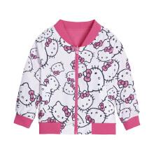 女童梭织薄外套